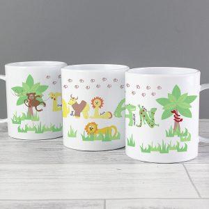 Personalised Plastic Mugs