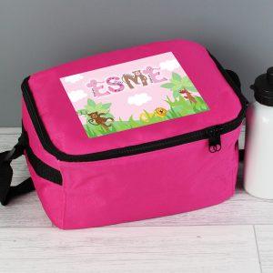Animal Alphabet Personalised Lunch Bag