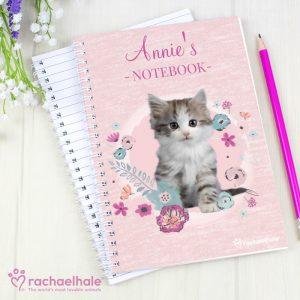 Cute Kitten Personalised Notebook