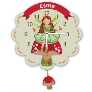 Fairy Personalised Clock