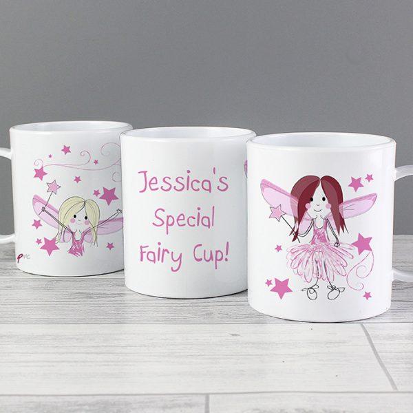 Fairy Personalised Plastic Mug