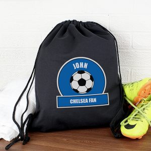 Football Personalised Kit Bag