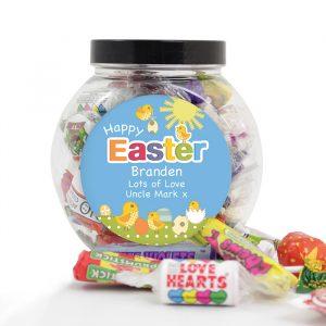 Personalised Easter Sweet Jar
