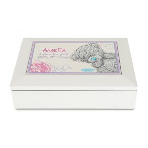Personalised Me To You Jewellery Box