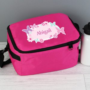 Personalised Butterfly Lunch Box