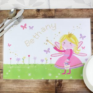 Personalised Fairy Placemat