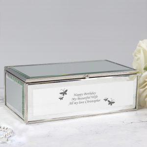 Personalised Girls Jewellery Box