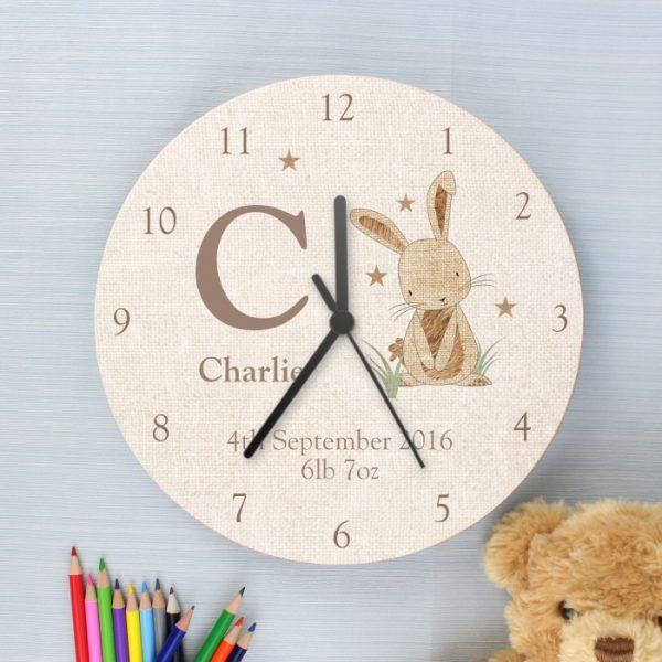 Personalised Nursery Clock