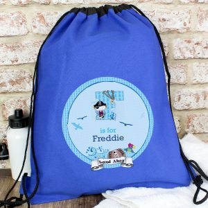 Personalised Pirate P.E. Kit Swim Bag