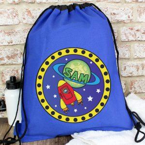 Personalised Space P.E. Kit Swim Bag