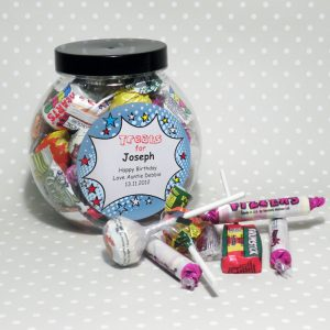 Personalised Sweet Jar - Comic Book