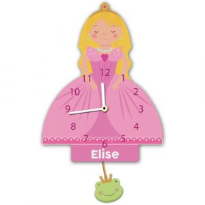 Princess Personalised Wall Clock