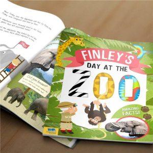 Personalised Zoo Book