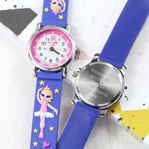 Personalised Ballerina Children's Watch