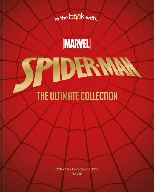 Spiderman Ultimate Collection Personalised Book