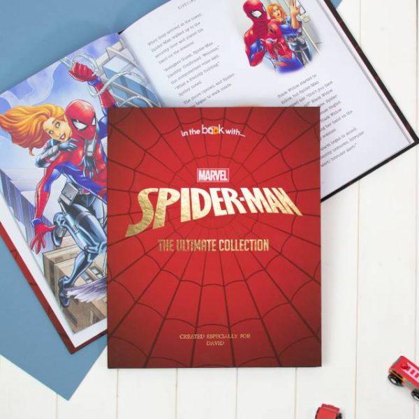 Personalised Spiderman Book
