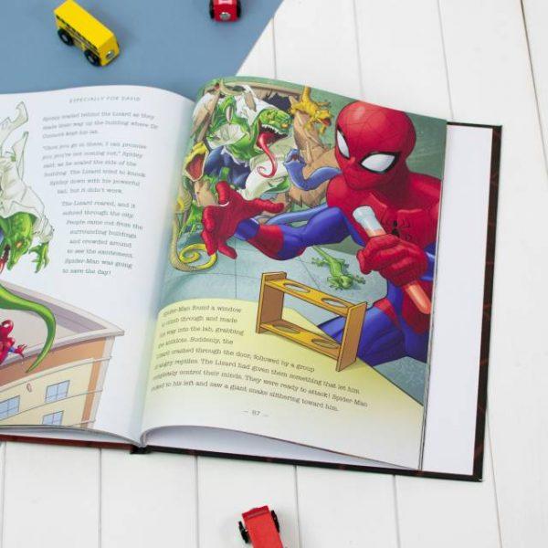 Personalised Book - Marvel Spiderman