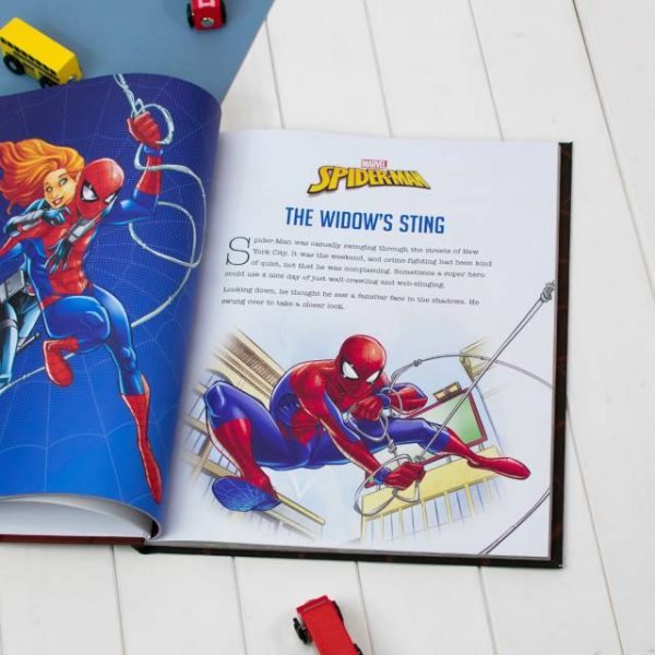 Personalised Spider-man Book