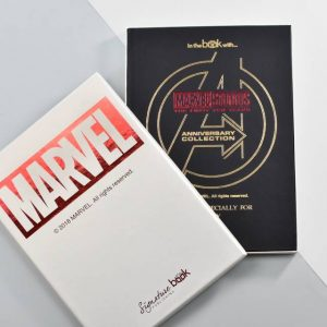 MArvel 10 Year Anniversary Collection Personalised Book