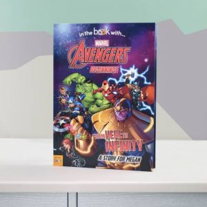 Marvel Avengers Personalised Book
