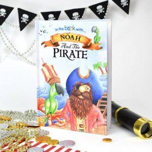 Personalised Pirate Book