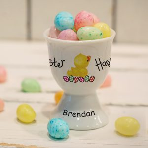 Easter Chick Personalised Egg Cup