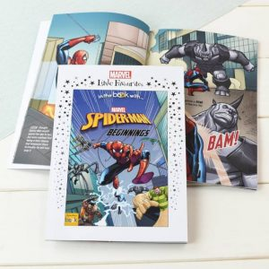 Marvel Spider-man Personalised Book