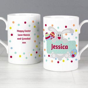 Personalised Easter Bunnny Mug