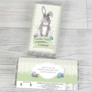 Personalised Easter Chocolate Bar