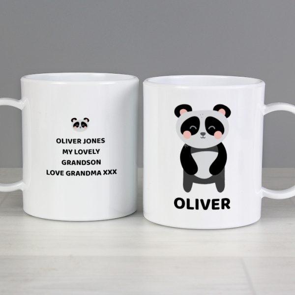 Panda Plastic Cup
