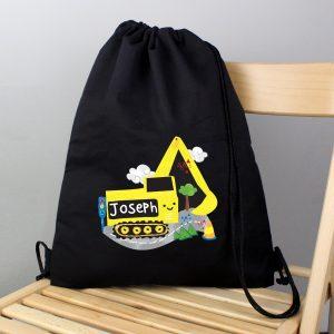 Personalised Digger Kit Bag