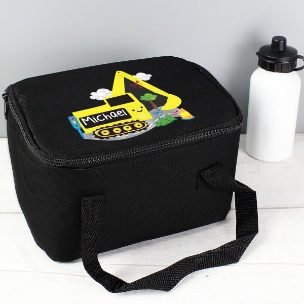 Personalised Digger Lunch Bag