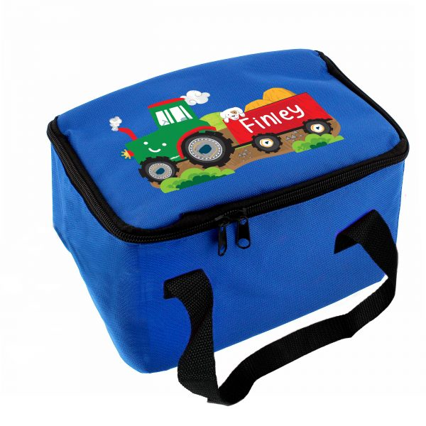 Tractor Personalised Lunch Bag