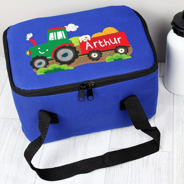 Personalised Tractor Lunch Bag