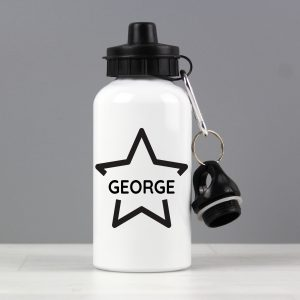 Personalised Star Water Bottle
