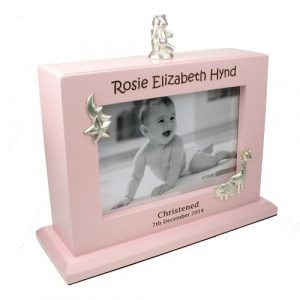 Baby Girl Personalised Engraved Photo Album