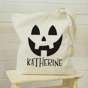 Personalised Halloween Treat Bag