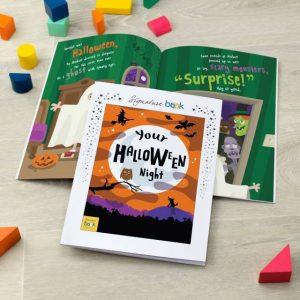 Personalised Halloween Book