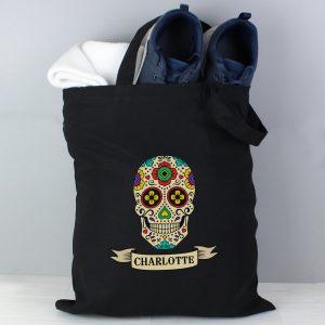 Personalised Sugar Skull Bag