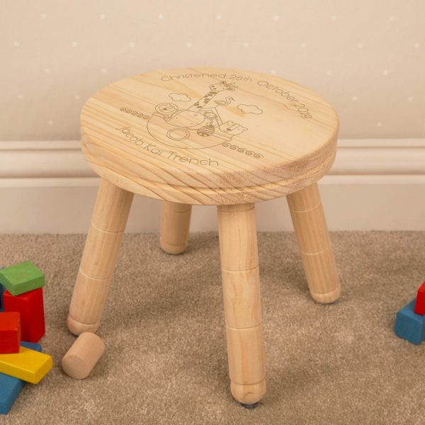 Personalised Stool for Boy