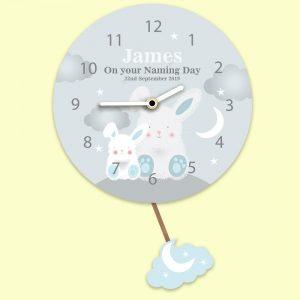 Children's Pendulum Wall Clock