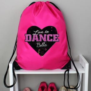 Live To Dance Personalised Kit Bag