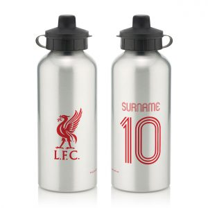 Liverpool FC Retro Shirt Water Bottle
