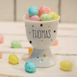 Personalised Children's Egg Cup - Stars