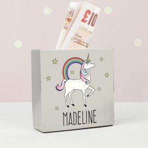 Unicorn Money Box