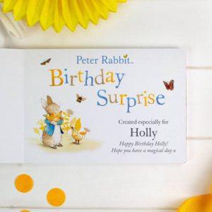 Personalised Peter Rabbit Board Book