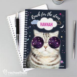 Personalised Cat Notebook