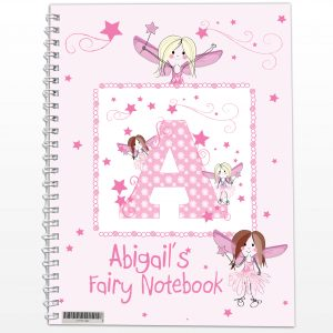 Personalised Fairy Notebook A5