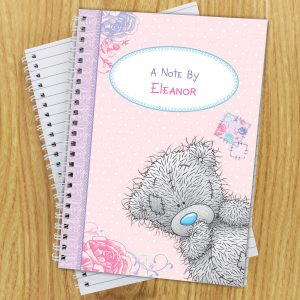 Personalised Me To You Notebook