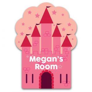 Princess Castle Door Plaque